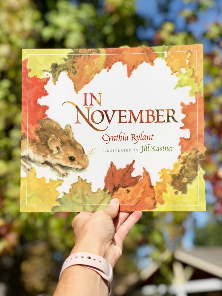In November by CynthiaRylant