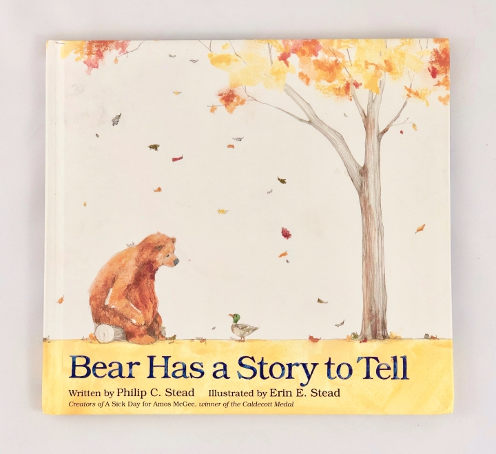 Bear Has a Story to Tell by Philip Stead
