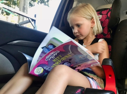 trade books in car