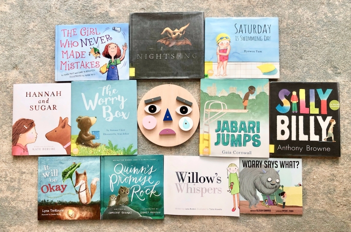 Books for Helping Children Cope with Fears and Worries