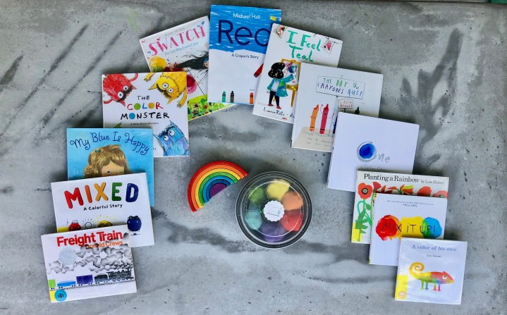 Rainbow and Color Books