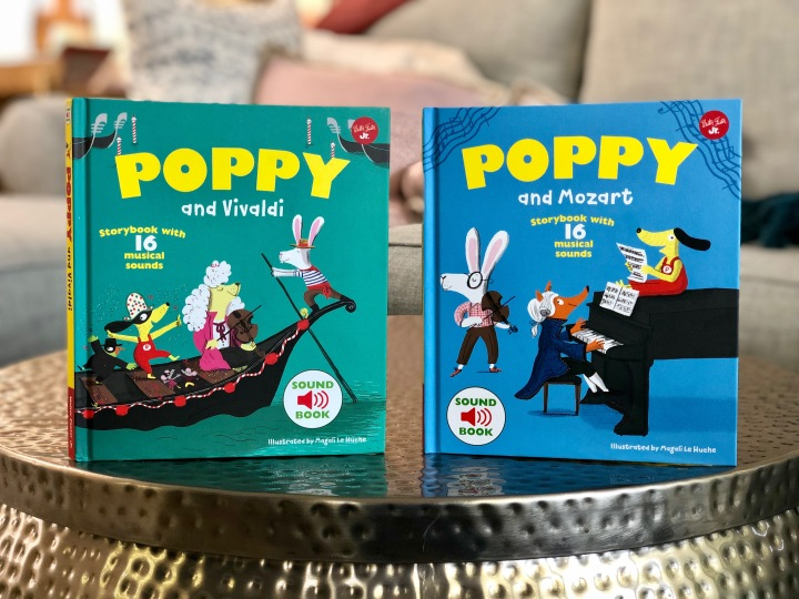 The Poppy Music Series by Magali LeHuche