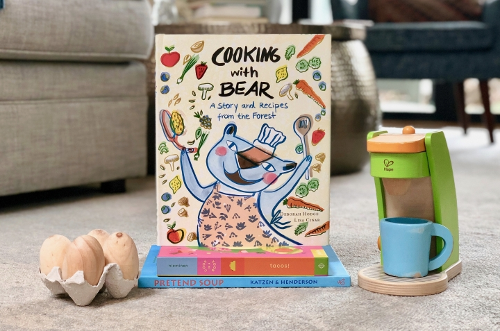 Cooking with Bear by Deborah Hodge