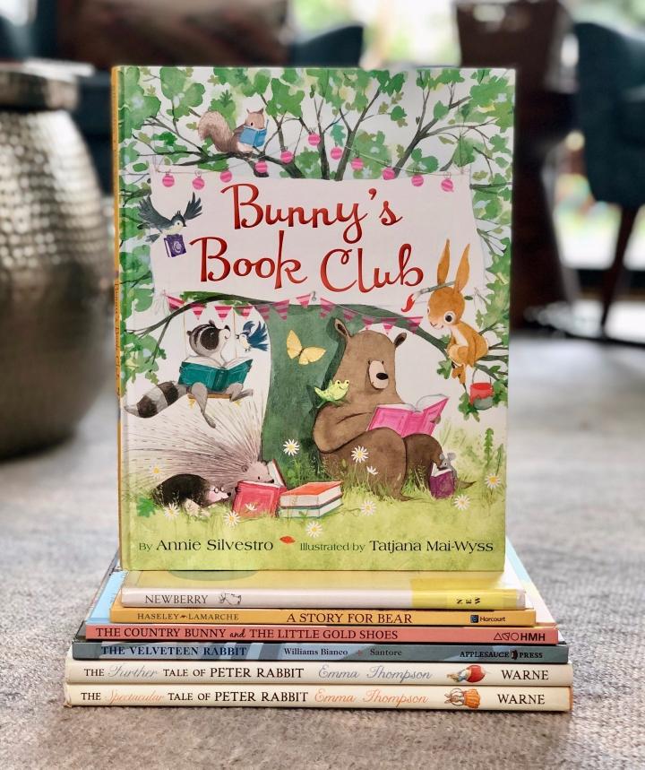 Bunny's Book Club by AnnieSilvestro