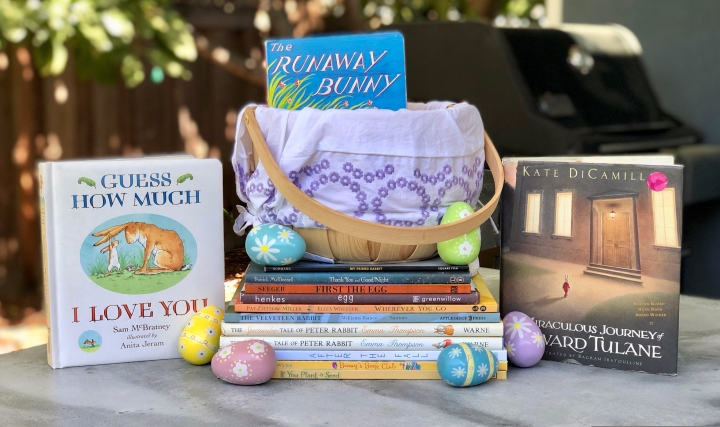 Books about Bunnies and Eggs