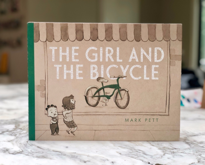 The Girl and the Bicycle by MarkPett