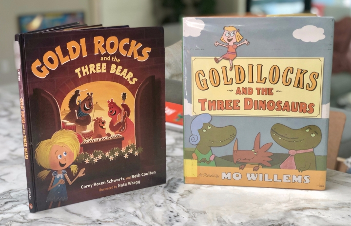 Two Favorite Goldilocks Books