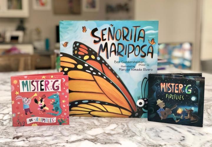Señorita Mariposa by Ben Gundersheimer (and Mister G's songs,too!)