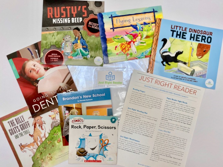 An Easy Way to Receive Just Right Books for Your Child