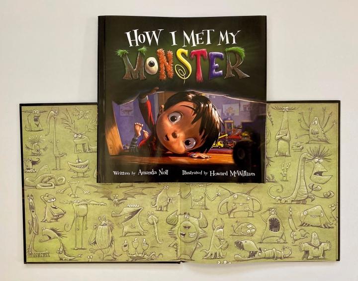 How I Met My Monster by AmandaNoll