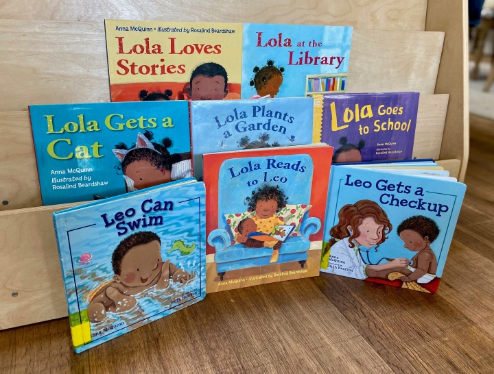 The Lola and Leo series by AnnaMcQuinn