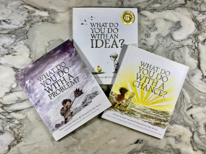 """The """"What Do You Do With…"""" Series by Kobi Yamada AND an InstagramGiveaway"""
