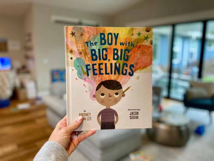 The Boy With Big, Big Feelings by Britney WinnLee