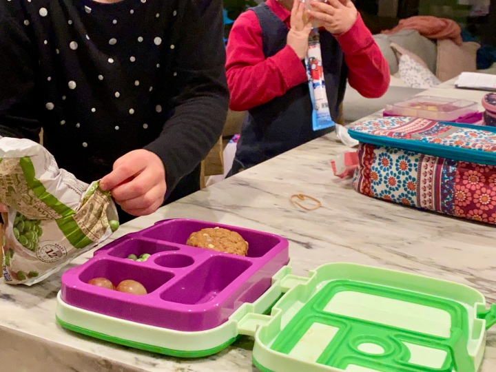 """How We """"Outsource"""" Packing SchoolLunches"""