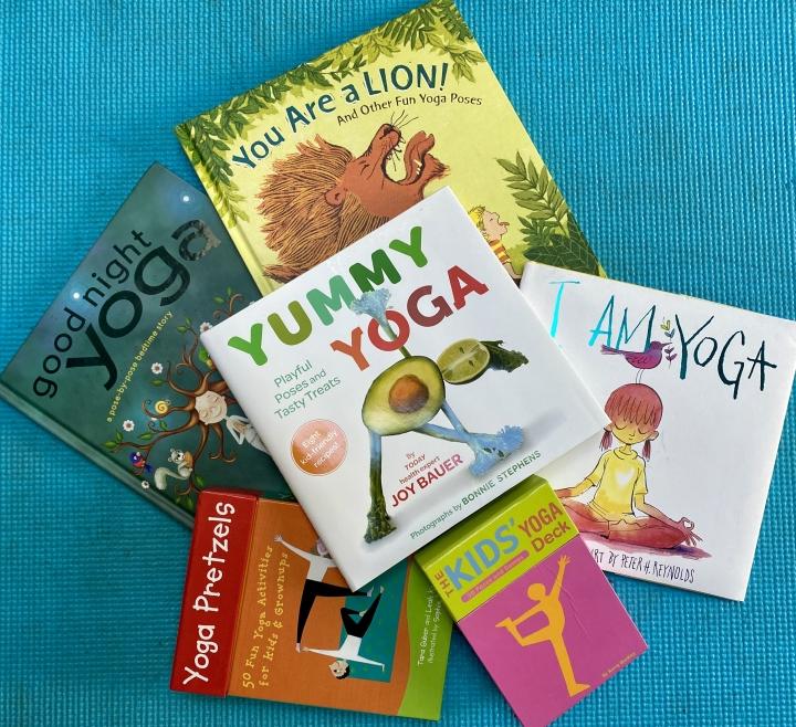 Yummy Yoga: Playful Poses and Tasty Treats by JoyBauer