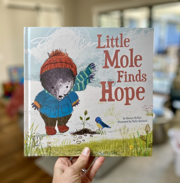 Little Mole Finds Hope by Glenys Nellist, PLUS an InstagramGiveaway!