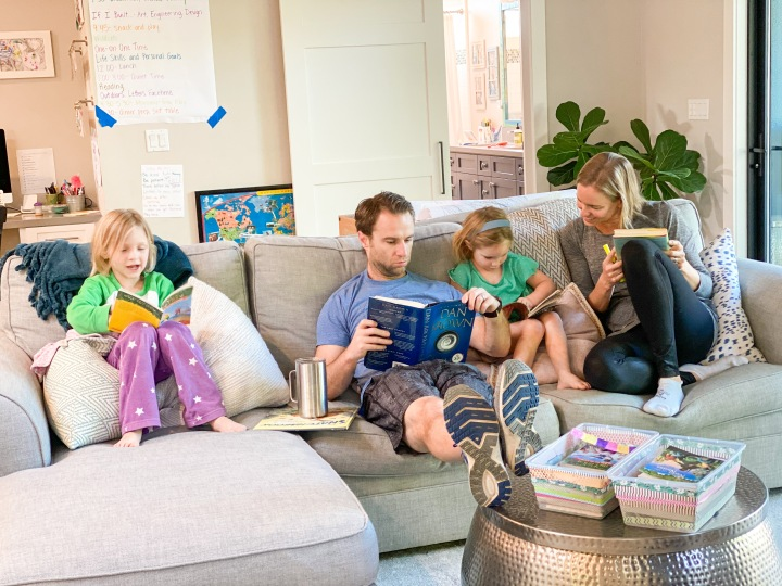 Book Baskets and Daily Independent Reading Time