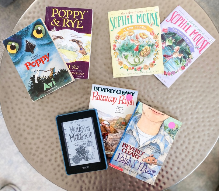 Recent Favorite Family Read-Alouds — All With a Mouse Theme!