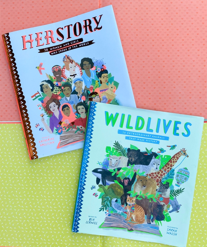 The Herstory and Wildlives Collections —  Two Must-Buys for Supporting COVIDLearning