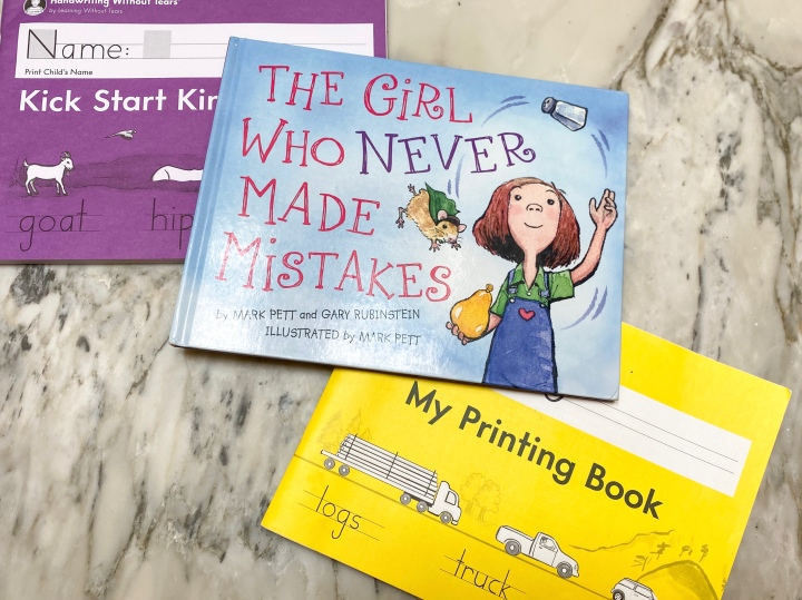 The Girl Who Never Made Mistakes by Mark Pett and GaryRubinstein