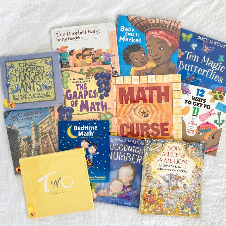 A Dozen Delightful MathBooks