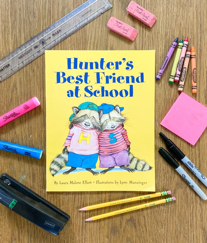 Hunter's Best Friend at School by Laura Malone Elliott