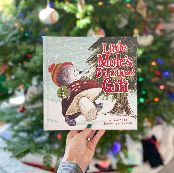Little Mole's Christmas Gift by Glenys Nellist, plus an Instagram Giveaway!