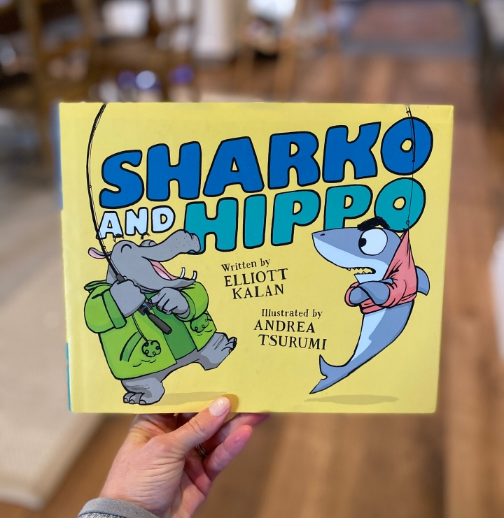 Sharko and Hippo by Elliott Kalan